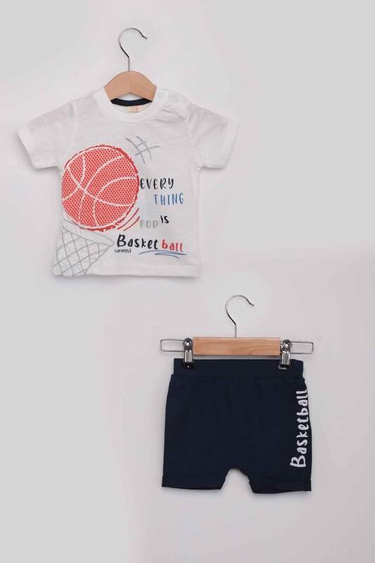Luminoso - Basketball Erkek Çocuk Şortlu Takım | Lacivert