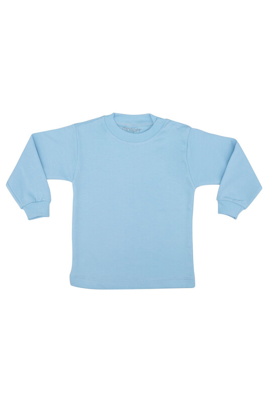 MİNİSOFT - Penye Bebek Bady   Mavi