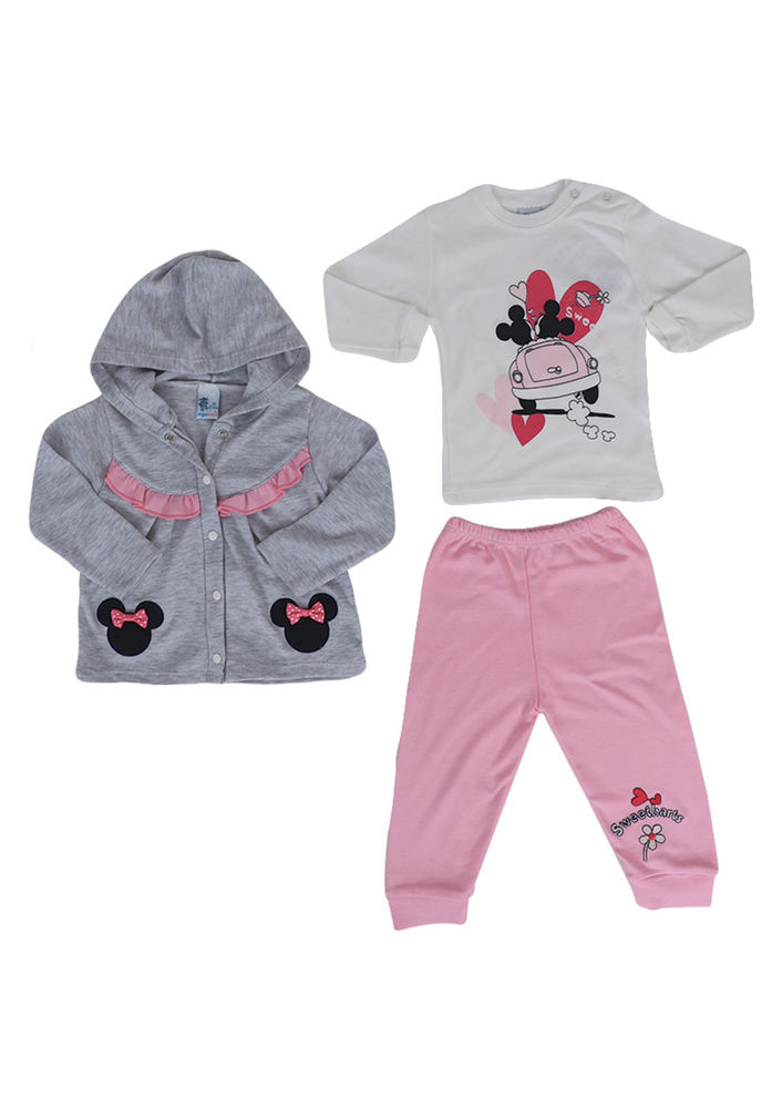 Agumini Bebek Takımı 3037 | Bebe Pembe