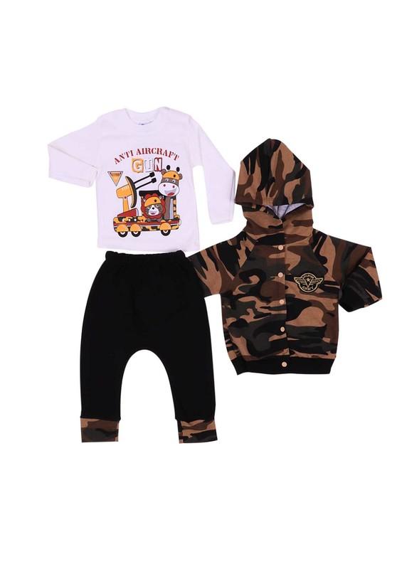 AGUMİNİ - Agumini Bebek Takımı 90015 | Siyah