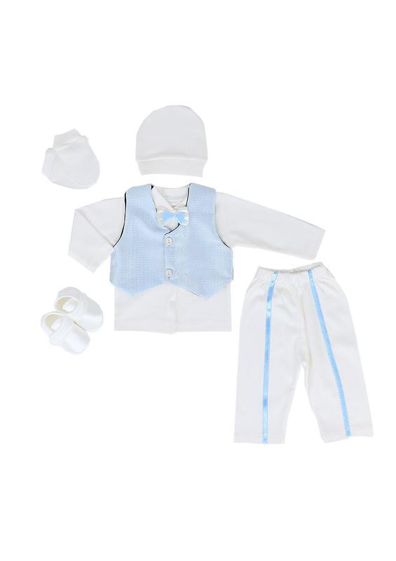 BABY TİNY - Baby Tiny Bebek Takımı 399 | Mavi