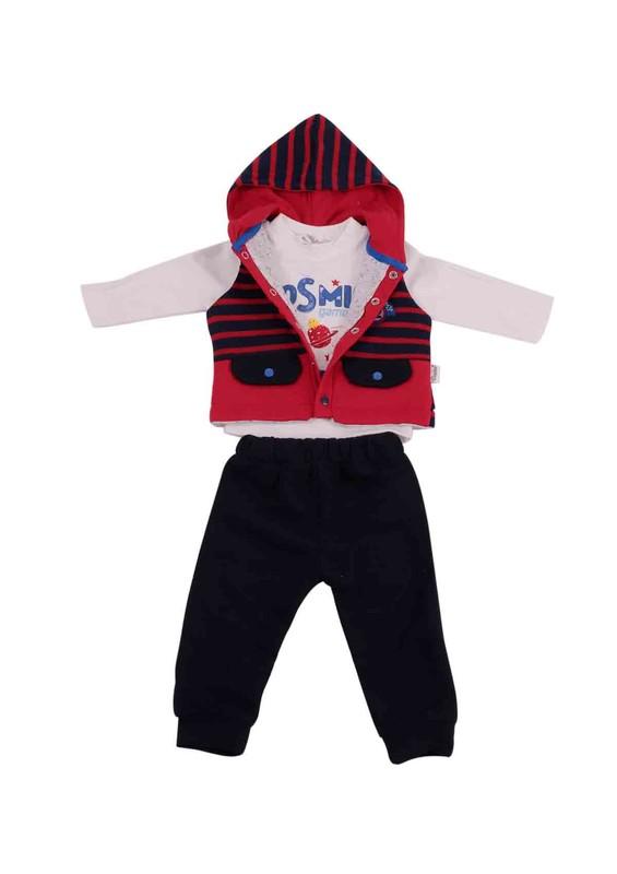 DONİNO - Donino Baby Bebek Takımı 12374 | Kırmızı