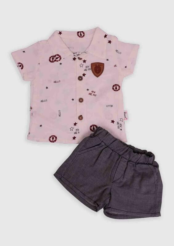Hippıl Baby - Hippıl Baby 2'li Bebek Takım 002 | Bordo