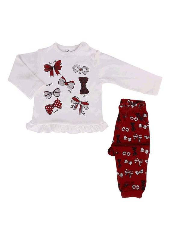 HOPPALA BABY - Hoppala Baby Bebek Takımı 8020 | Bordo