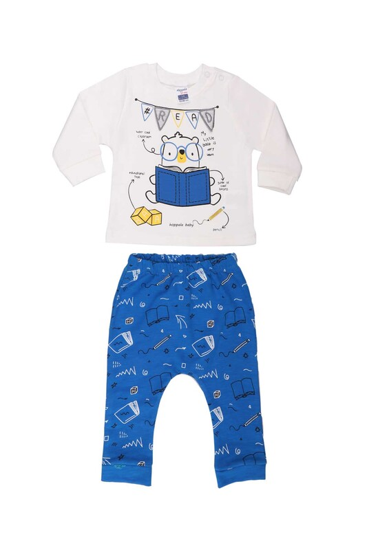 HOPPALA BABY - Hoppala Baby Read Erkek Çocuk 2'li Takım 2267   Saks