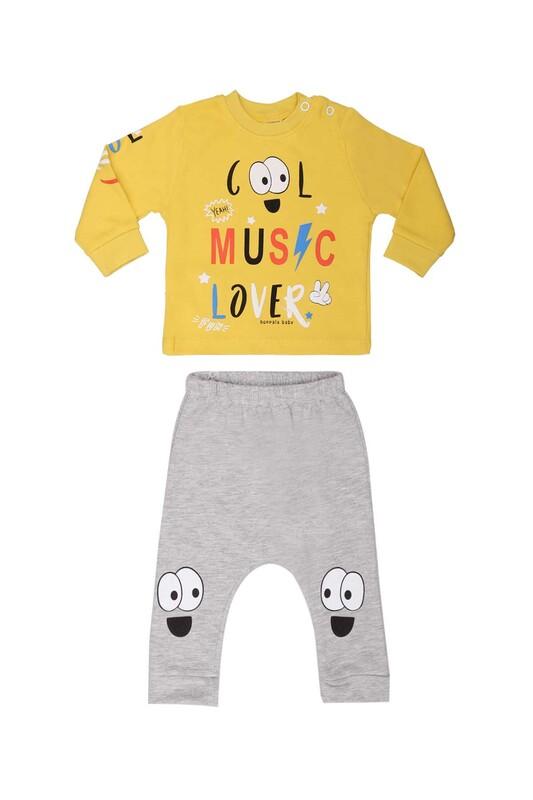 HOPPALA BABY - Hoppala Baby Cool Erkek 2'li Takım 2271   Yeşil