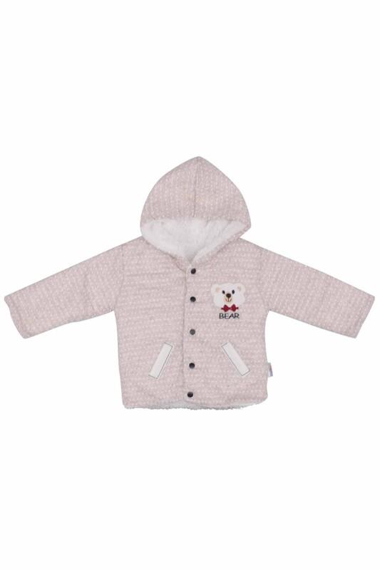 MİLLİON - Ayıcıklı Bebek Takımı 2220 | Bej