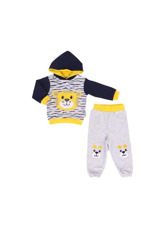 MİNİŞ - Miniş Bebek Takımı 1014 | Sarı