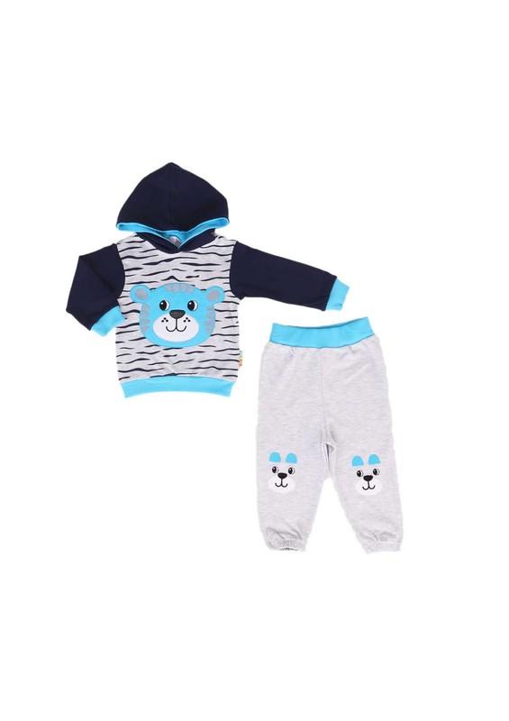 MİNİŞ - Miniş Bebek Takımı 1014 | Mavi