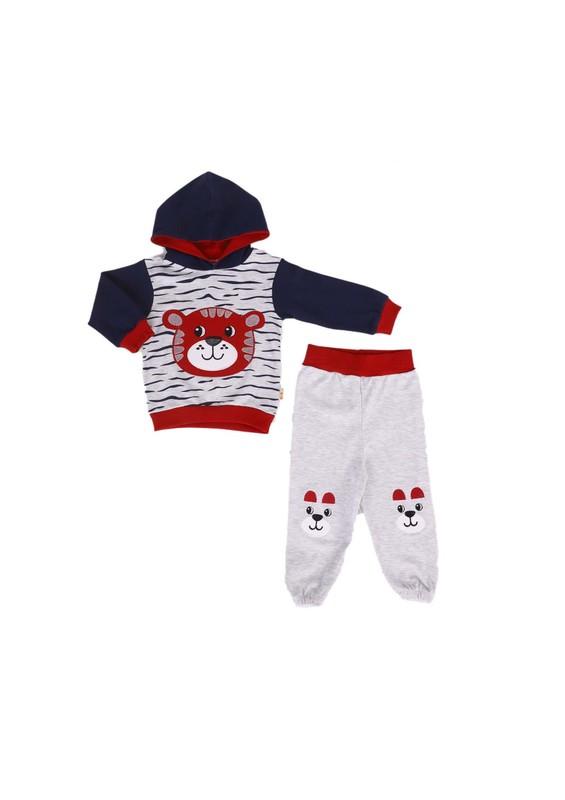 MİNİŞ - Miniş Bebek Takımı 1014 | Kırmızı