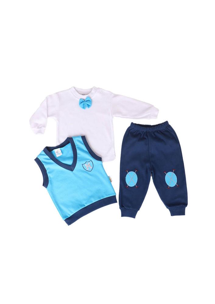 Miniş Bebek Takımı 1011 | Mavi