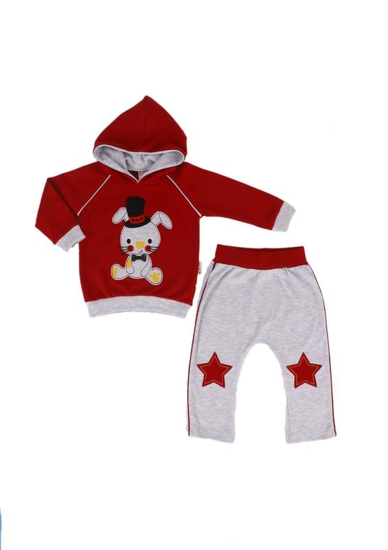 MİNİŞ - Miniş Bebek Takımı 1012 | Kırmızı