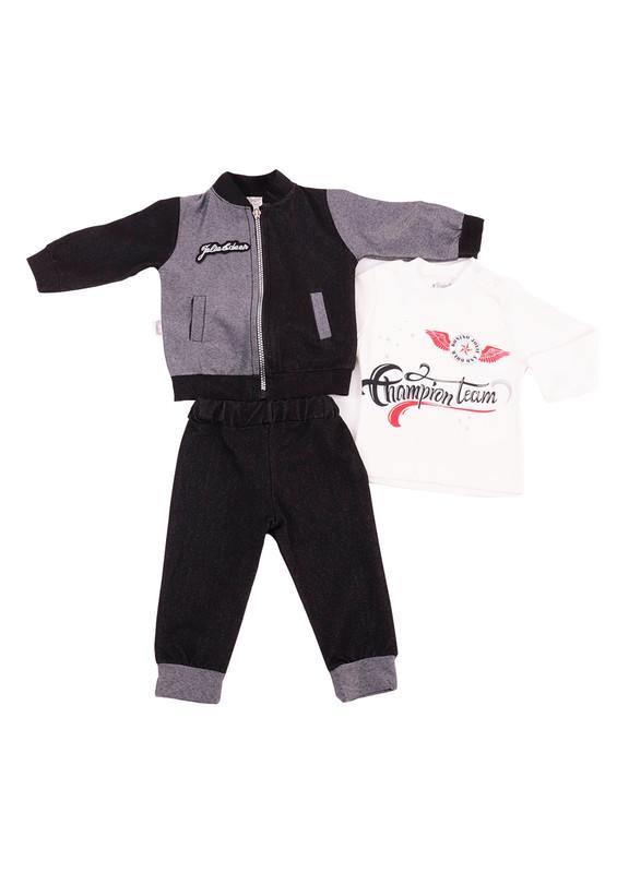 SİMİSSO - Simisso Baby Bebek Takımı 12523 | Siyah
