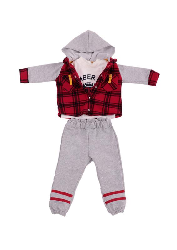 SİMİSSO - Simisso Baby Bebek Takımı 12438 | Kırmızı