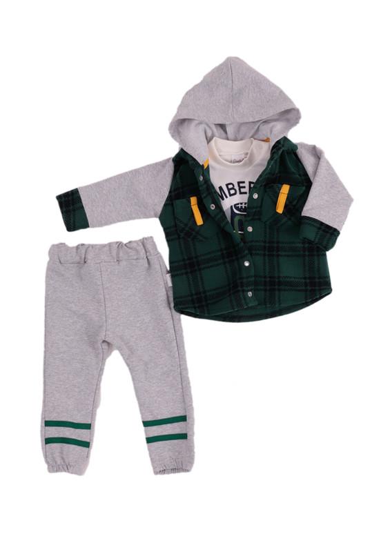 SİMİSSO - Simisso Baby Bebek Takımı 12438 | Yeşil