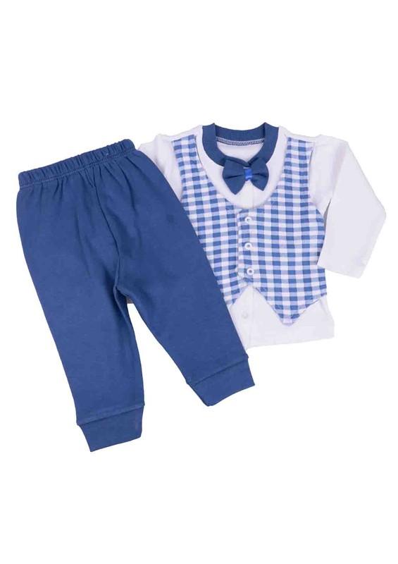 SİMİSSO - Simisso Bebek Takımı 1608   Mavi