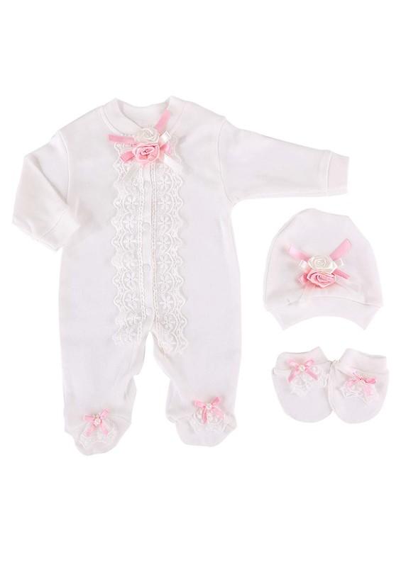 SİMİSSO - Simisso Bebek Tulumu 009 | Beyaz