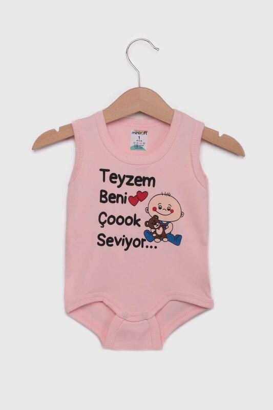 SİMİSSO - Teyzem Beni Çok Seviyor Bebek Zıbın   Pudra