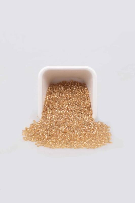 EMRE - Parlak Kum Boncuk 50 gr Altın