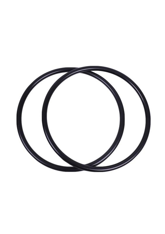 SİMİSSO - Simisso Plastik Yuvarlak Siyah Çanta Sapı