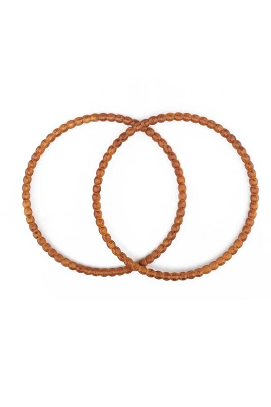 SİMİSSO - Ahşap Görünümlü Plastik Çanta Sapı Model 2 | Kahverengi