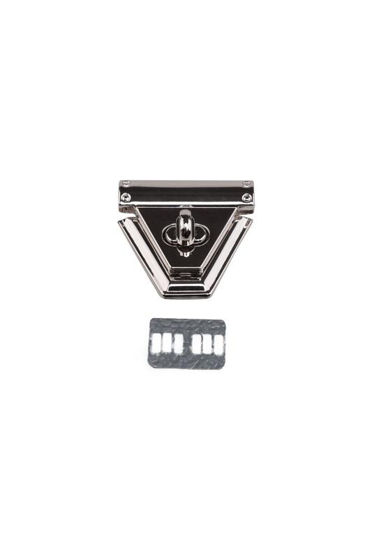 SİMİSSO - Çevirmeli Çanta Kilidi Metal 5x5 cm