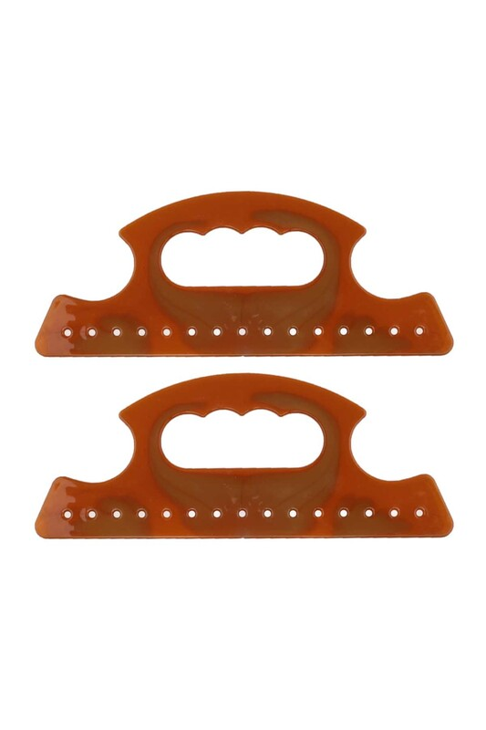 SİMİSSO - Plastik Çanta Sapı Kahverengi 002