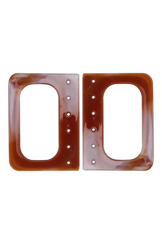 SİMİSSO - Plastik Çanta Sapı Kahverengi 001