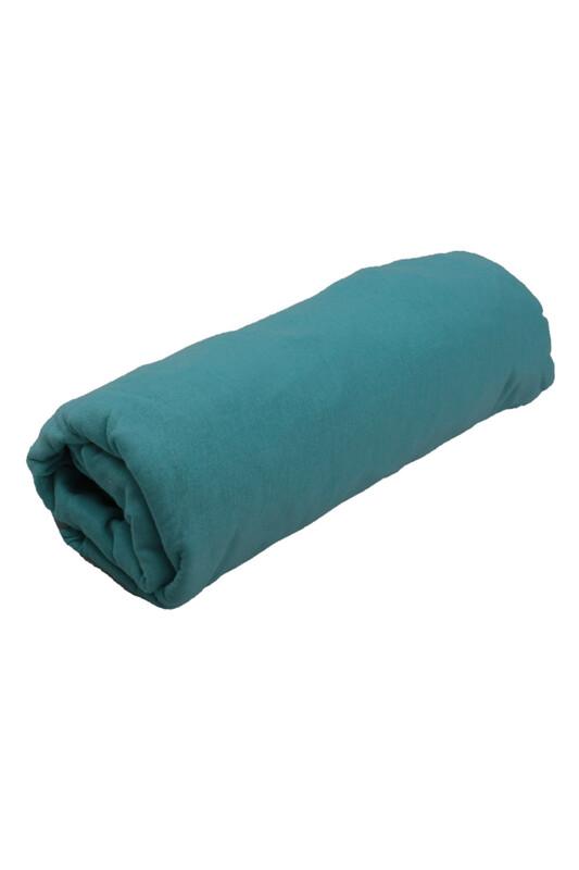 SİMİSSO - Penye Lastikli Çarşaf Çift Kişilik 160 x 200 cm | Bebe Mavi