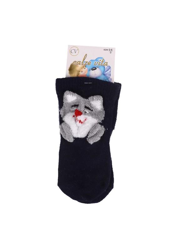 CALZE VİTA - Calze Vita Soket Çorap 006 | Lacivert