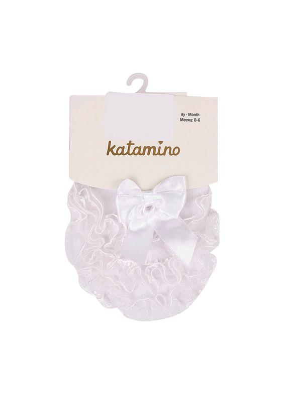 KATAMİNO - Katamino Külotlu Çorap 028 | Krem