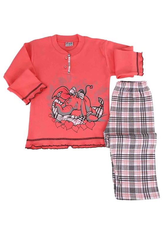 SİMİSSO - Simisso Pijama Takımı 021 | Fuşya