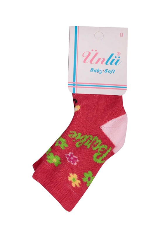 ÜNLÜ BABY - Ünlü Baby Çorap 106   Pembe
