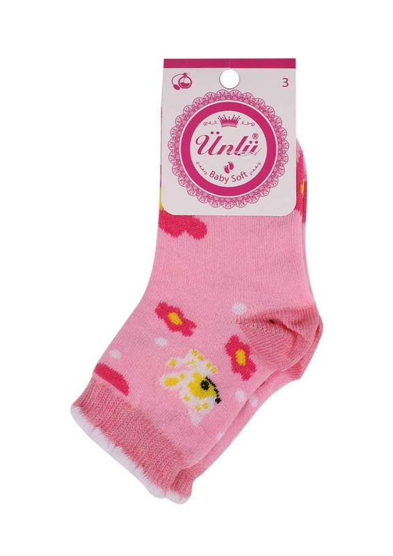 ÜNLÜ BABY - Ünlü Baby Soket Çorap 109 | Pudra