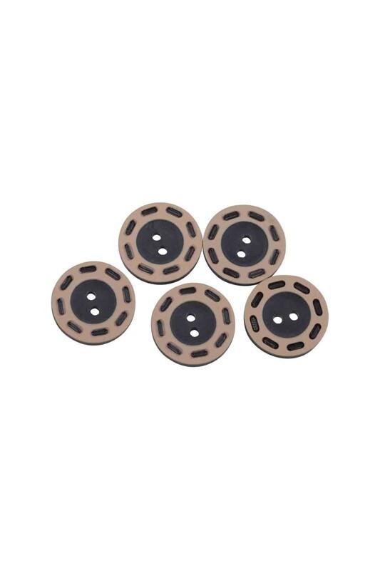 SİMİSSO - Delikli Düğme Siyah