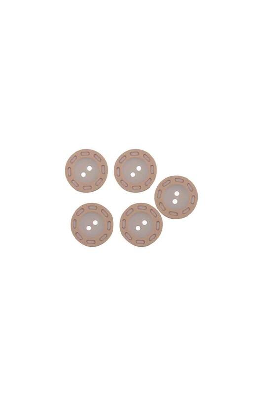 SİMİSSO - Delikli Düğme Bej
