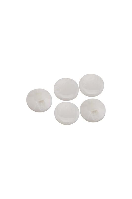 SİMİSSO - Desenli Düğme 5 Adet Model 6 | Krem