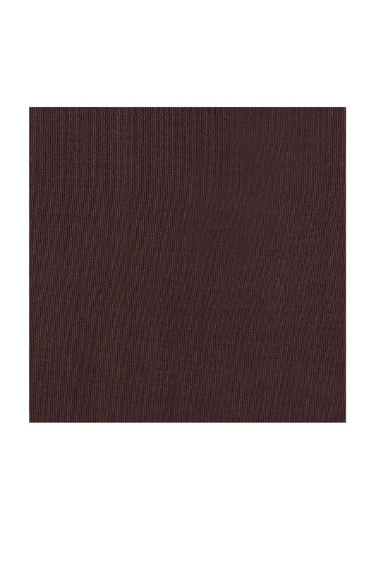 BERİVAN - Berivan Dikişsiz Düz Yazma 100 cm Kahverengi 029