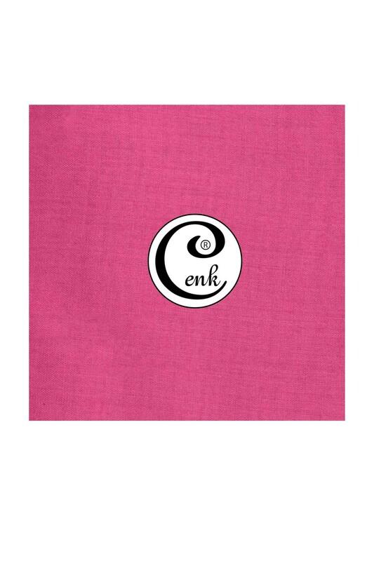CENK - Cenk Dikişsiz Düz Yazma 90 cm | Açık Fuşya