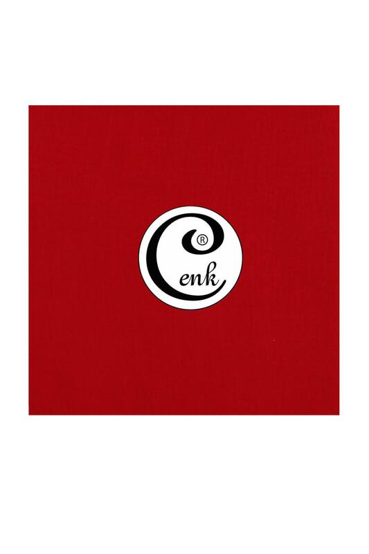 CENK - Cenk Dikişsiz Düz Yazma 100 cm Kırmızı 328