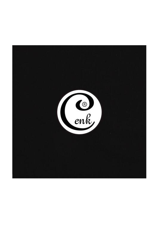 CENK - Cenk Dikişsiz Düz Yazma 100 cm Siyah 999