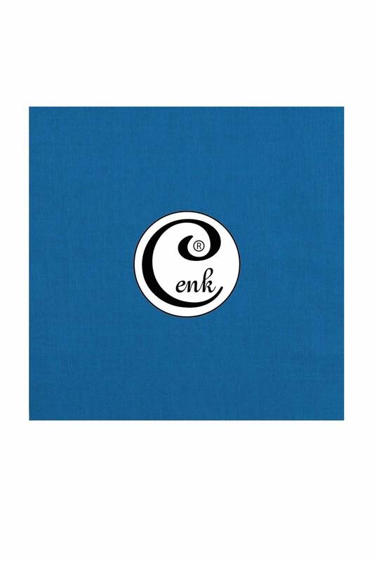 CENK - Cenk Dikişsiz Düz Yazma 90 cm | Elektrik Mavisi