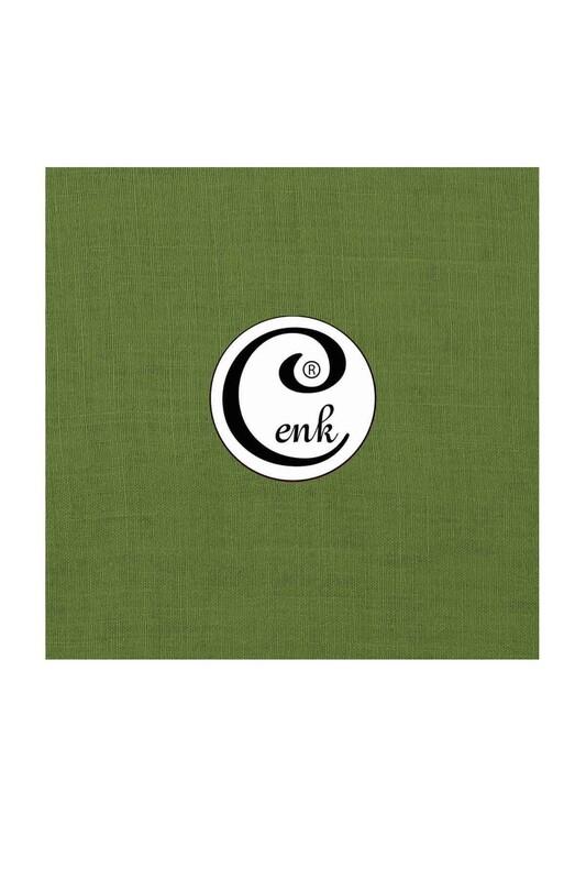 CENK - Cenk Dikişsiz Düz Yazma 90 cm | Yeşil