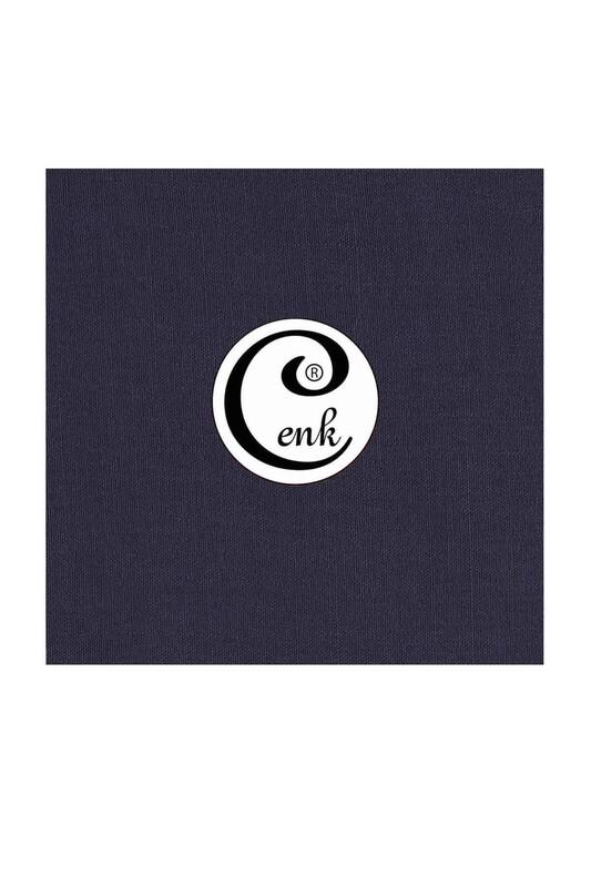 CENK - Cenk Dikişsiz Düz Yazma 100 cm Lacivert 455