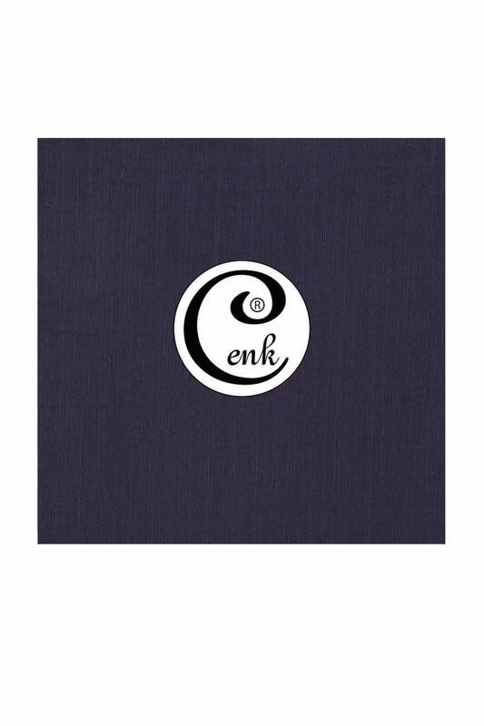 CENK - Cenk Dikişsiz Düz Yazma 90 cm | Lacivert
