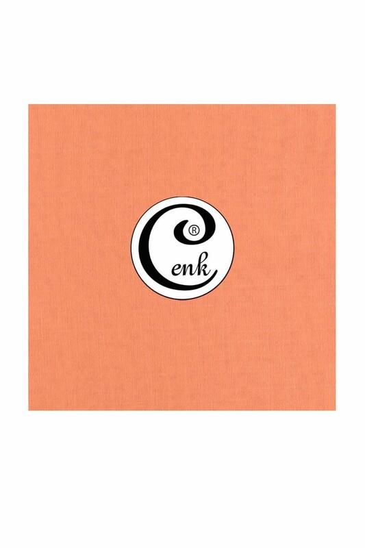 CENK - Cenk Dikişsiz Düz Yazma 100 cm Yavruağzı 415