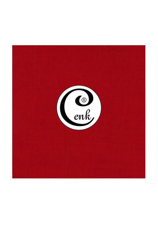 CENK - Cenk Dikişsiz Düz Yazma 100 cm Şarabi 646