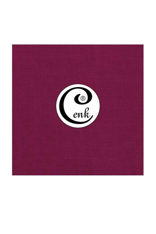 CENK - Cenk Dikişsiz Düz Yazma 90 cm | Açık Mor