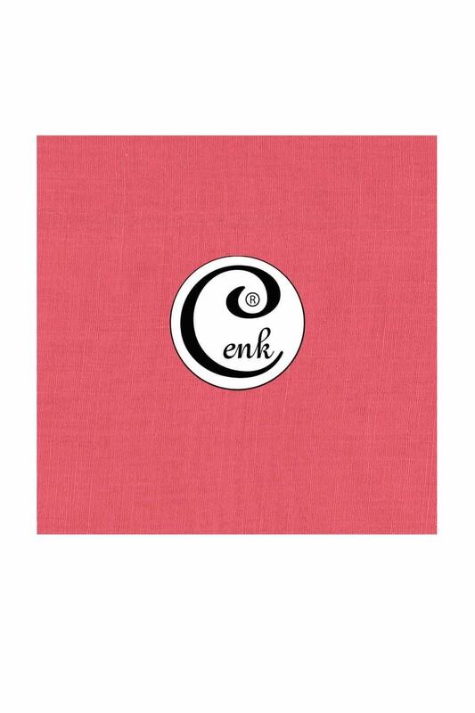 CENK - Cenk Dikişsiz Düz Yazma 90 cm   Gül Pembe