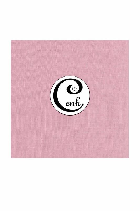 CENK - Cenk Dikişsiz Düz Yazma 90 cm | Pudra